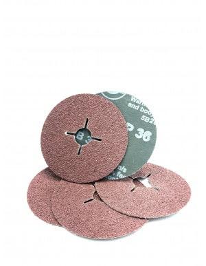 Disques abrasifs fibre corindon