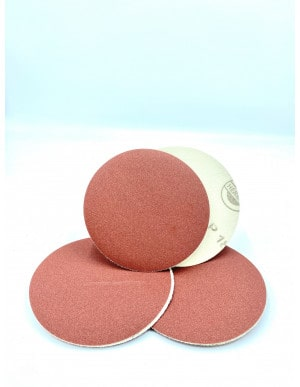 Disques abrasifs velcro sans trou ( bois, métal )