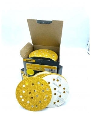 Disques abrasifs Mirka GOLD 125mm 19...