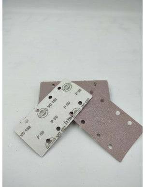 Rectangle abrasif 80x133 - 2x4 trous - Hermes VC152