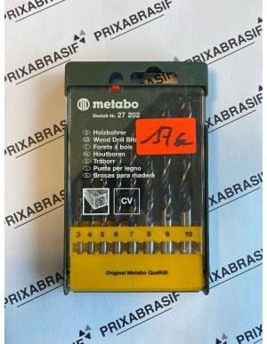 Coffret 8 forets bois metabo
