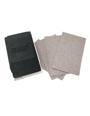 Kit de ponçage - Cale à poncer + lot de feuilles abrasives velcro 75x115mm
