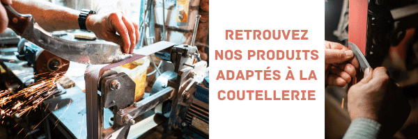 Bandes abrasives coutellerie